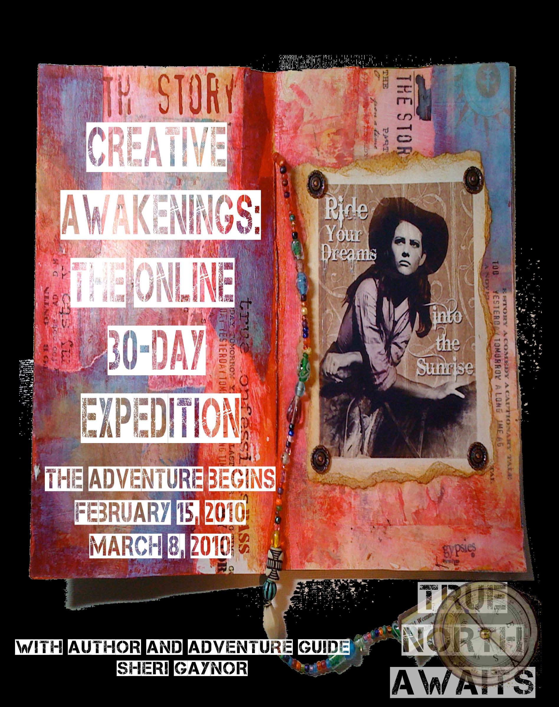 Creative Awakenings Poster True North